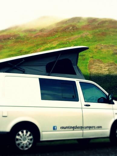 Van by hills campervan hire