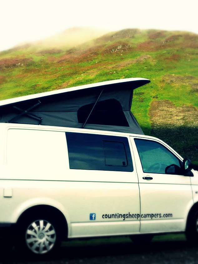 Van by hills campervan hire