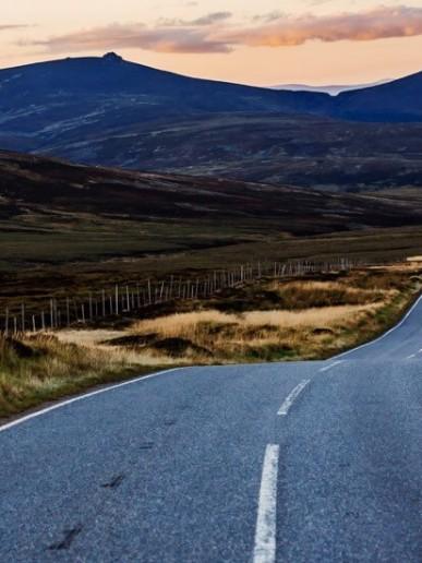Scottish road