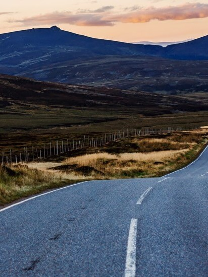 Scottish road