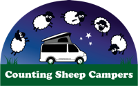 Counting Sheep Campers logo