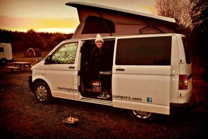 Van and BBQ campervan hire