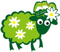 Counting Sheep Campers sheep green icon