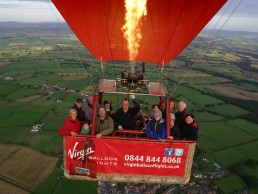 balloon trip with family