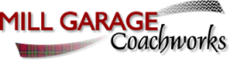 mill garage logo