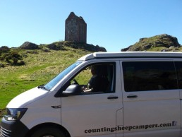 smaillholm tower camper van rent