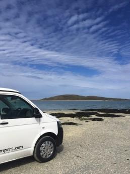 beach view western isles camper van hire