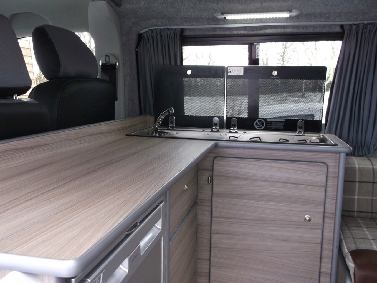 side door open skye motorhome hire