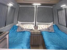 single beds skye motorhome hire