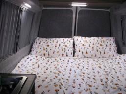 double bed skye motorhome hire