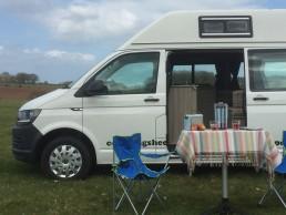 front picnic skye campervan hire