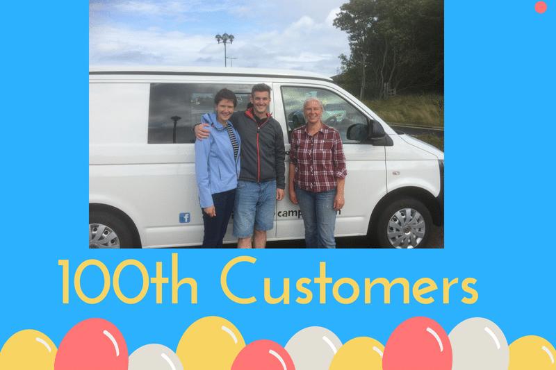 100th customer