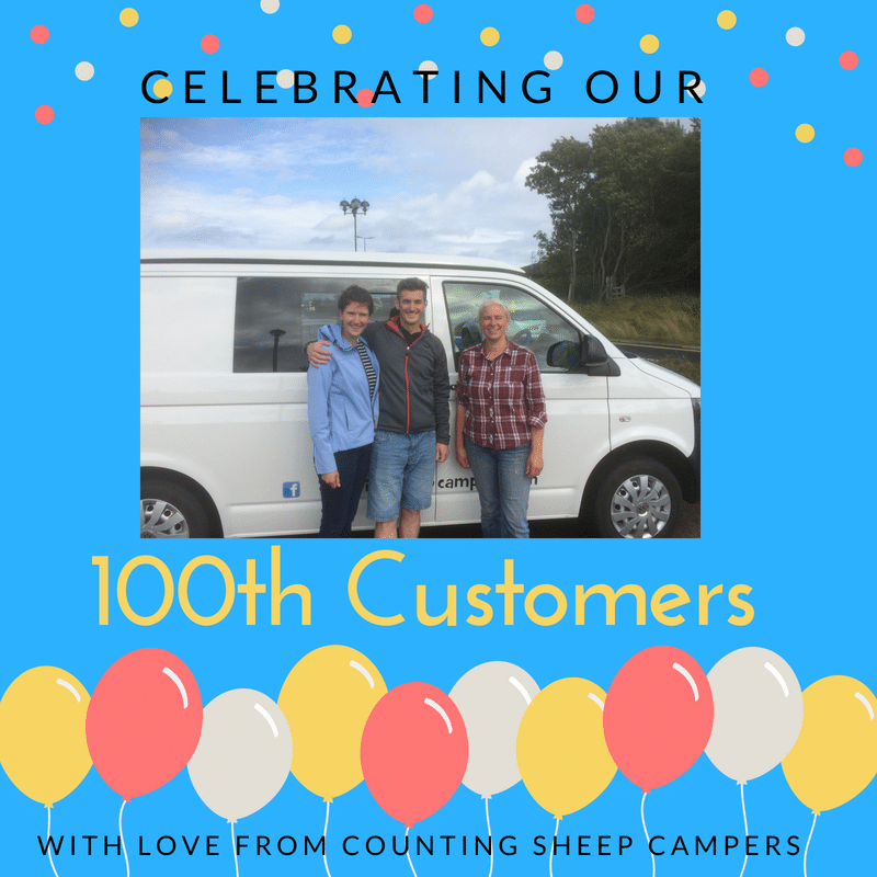 100th customer