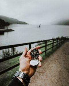 looking at loch ness