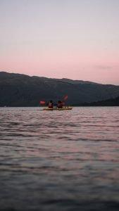 canoe near balloch