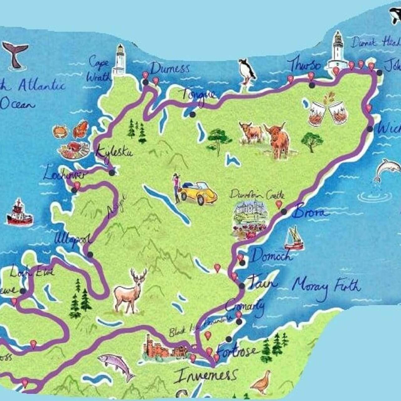 nc500 map