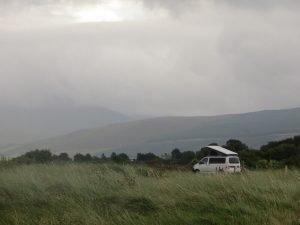 nc500 wild camping